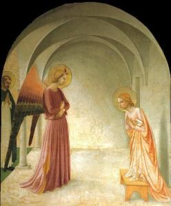 Christian Iconography: Fra Angelico, Annunciation