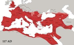 Roman Empire 117 A.D.