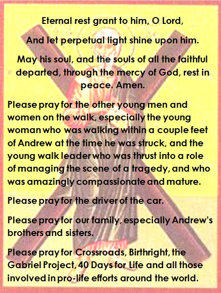 Andrew Prayers