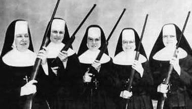 gun nuns