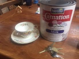 HUGE can of milk!